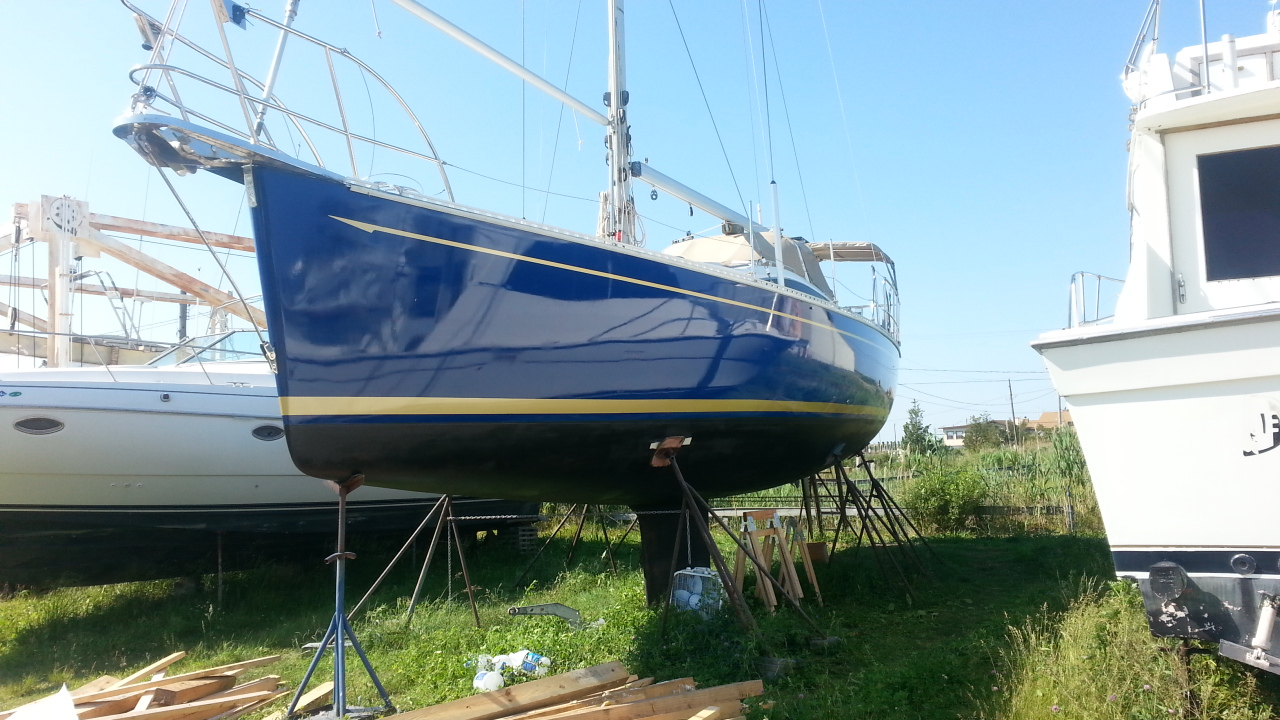 How To Paint A Boat S Hull Over Gel Coat