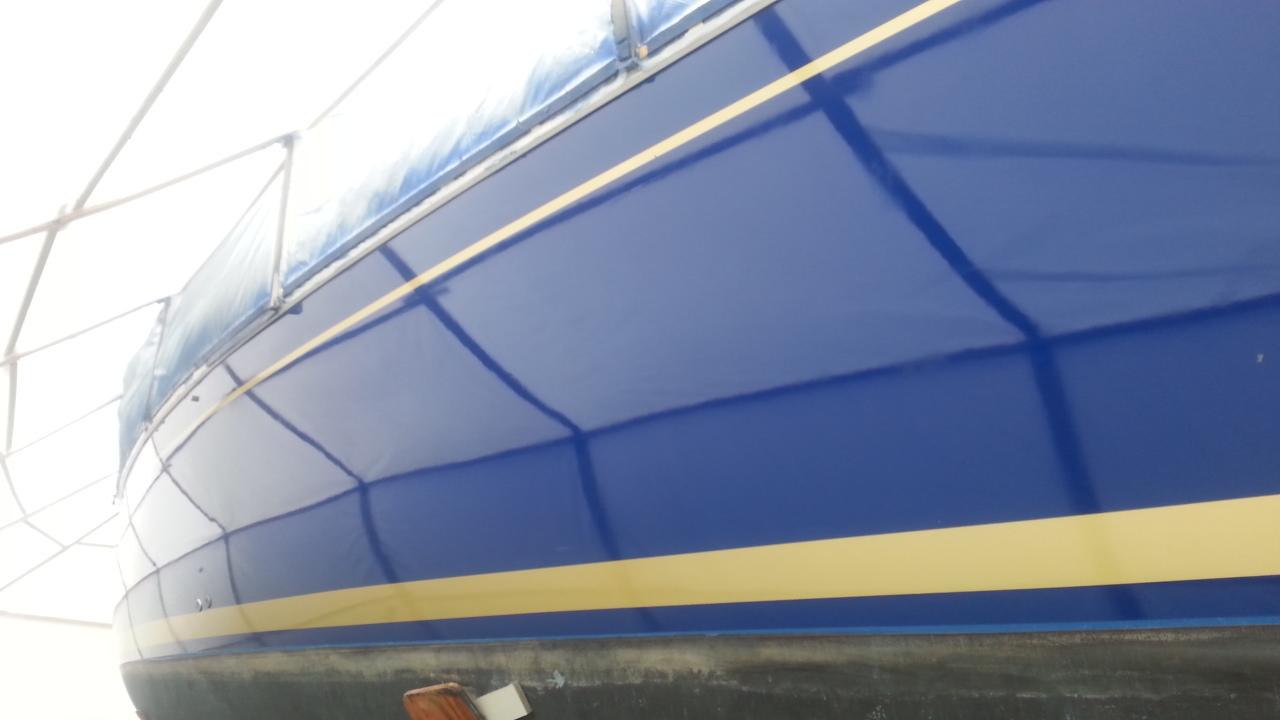 Interlux Royal Blue Paint
